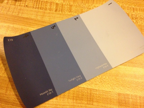 Ombre dresser paint swatch