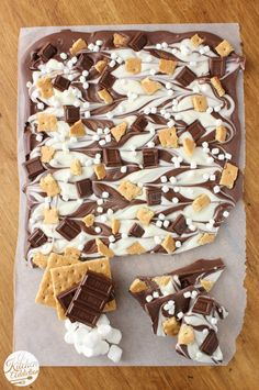 A triple chocolate s'more bark, perhaps?