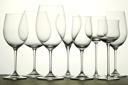 Fancy wine glasses!? YES, please!