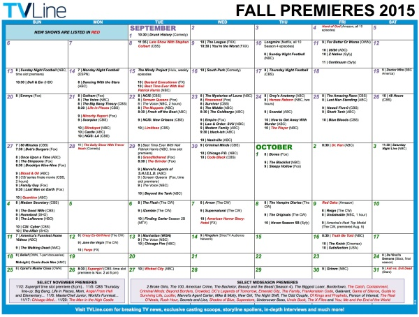 2015-9 TV Line Premiere