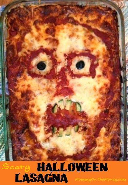 Scary lasagna!