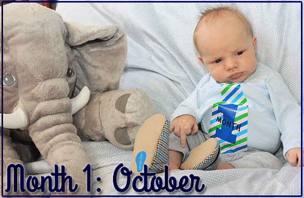 Baby Michael: Month 1