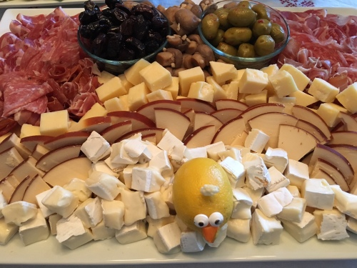 Thanksgiving antipasti tray