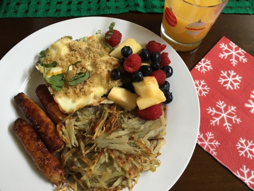 Christmas morning brunch