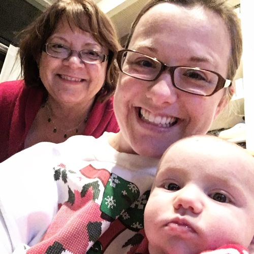 Three generations on Christmas!
