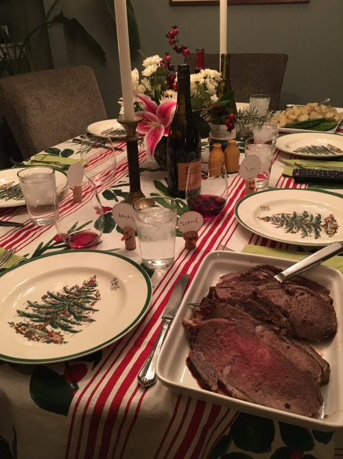 Our Christmas 2015 feast