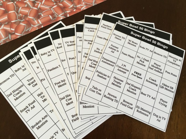 Super Bowl bingo was a big hit-- it combined commercials and the game.