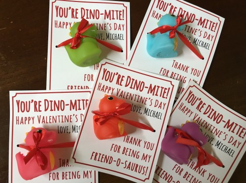 These valentines are DINO-riffic!