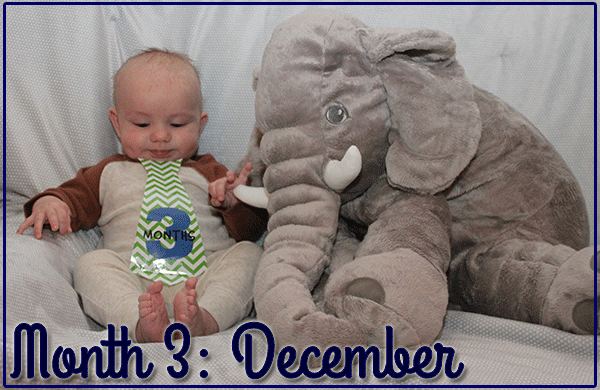 Baby Michael: Month 3