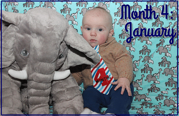 Baby Michael: Month 4