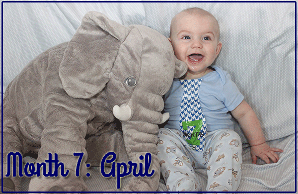 Baby Michael: Month 7