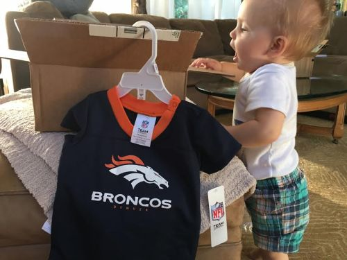 Michael's 2016-17 Bronco outfit is here!
