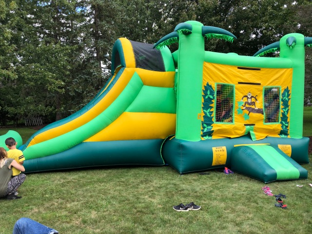 Large bouncy house