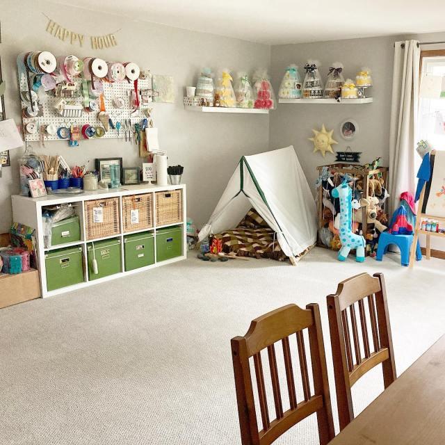Our playroom / craftroom / kindergarten room